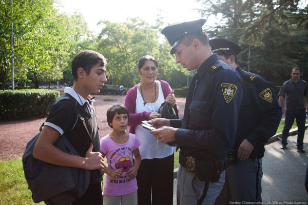 Казантип 2014 - полиция