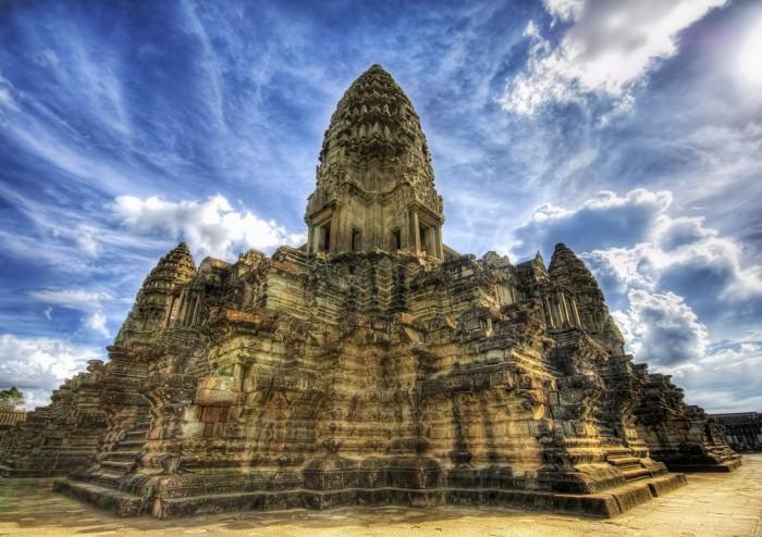 Ангкор Вам - символ Камбоджи