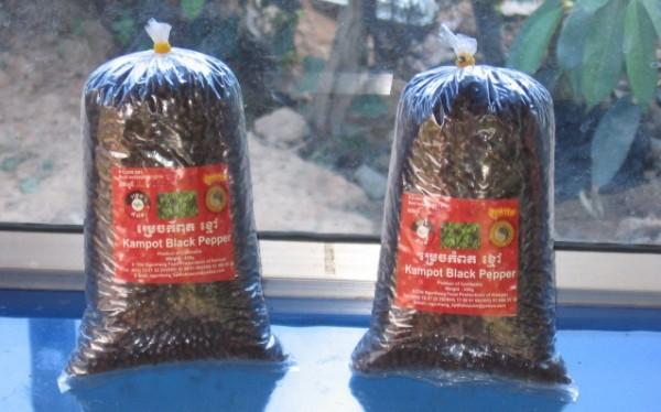 Что привезти из камбоджи - перец