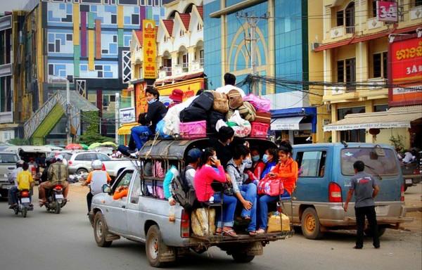 Транспорт Камбоджа