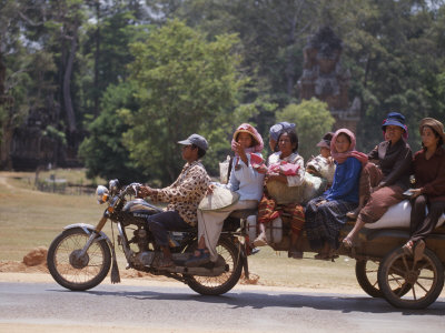 мото такси в Сиануквиле