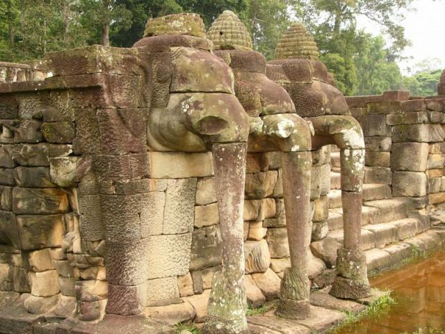 храмы камбоджи слоновья терраса