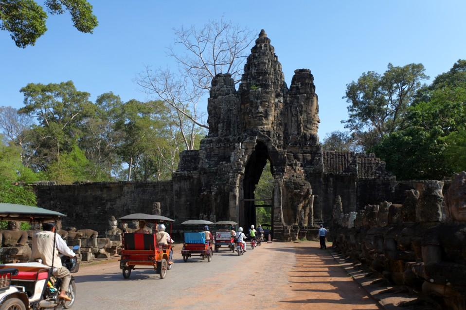 храмы камбоджи ангкор том