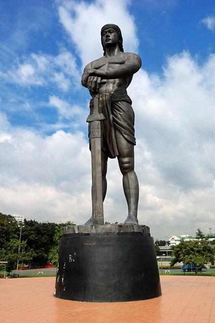 филиппины отдых памятник убийце магелана