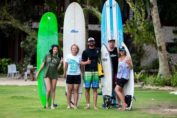 Русская школа серфинга на Филиппинах