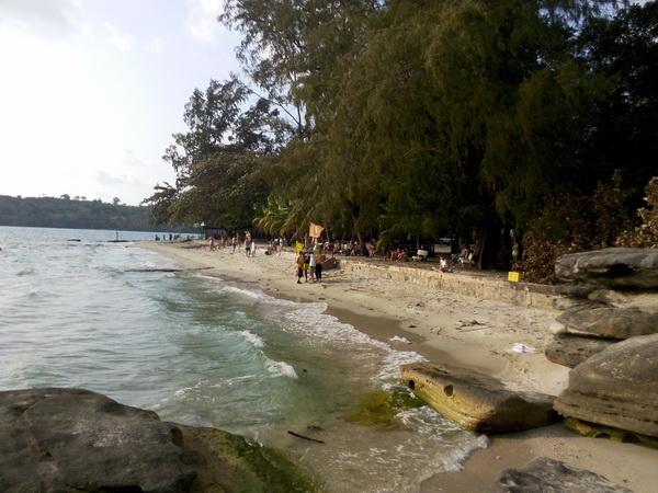 лучшие пляжив Камбодже в Сиануквиле