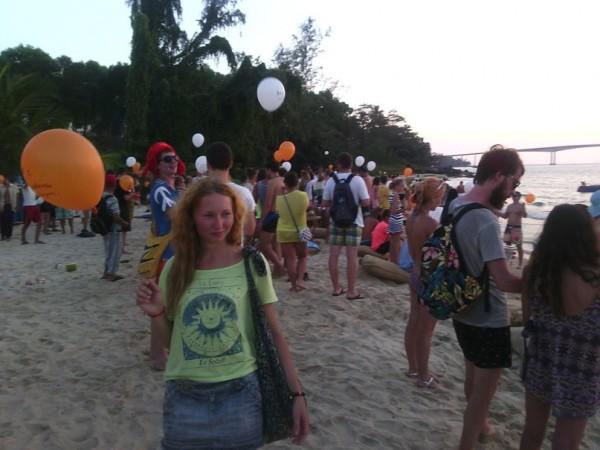 Казантип 2015 шарики