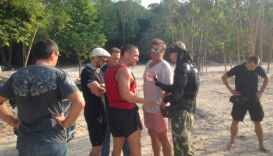Наезд на казантип в камбодже