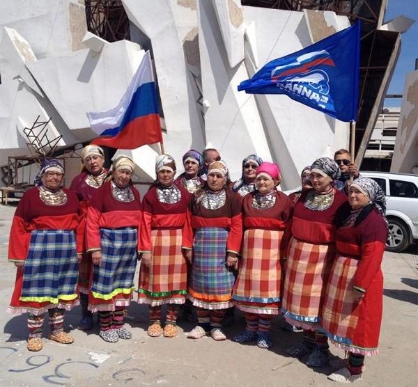 Территория Казантипа в Крыму