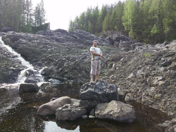 Карелия, Гирвас путешествие