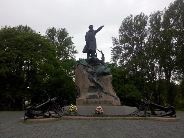 кронштадт памятник адмиралу макарову