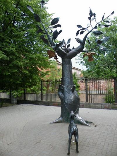дерево желаний в кронтадте