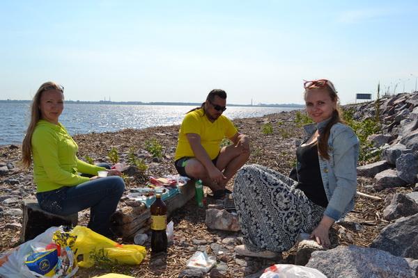 кронштадт финский залив дамба пикник 2015 год