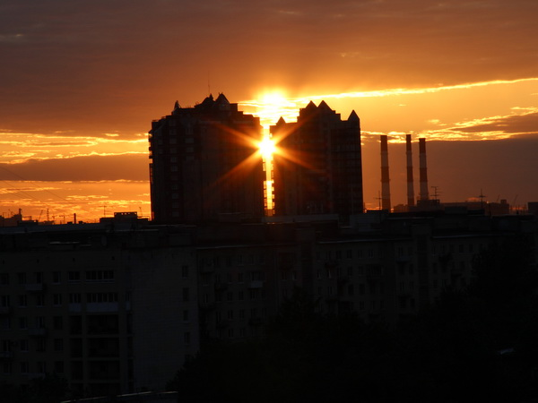 Московский район закат