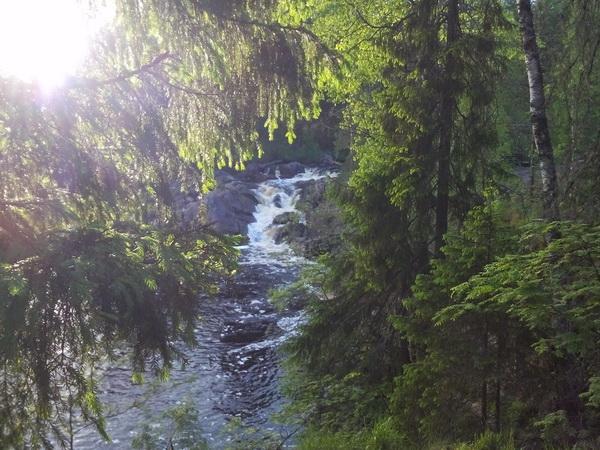 карелия водопады ахинкоски сказка на пути к рускеале