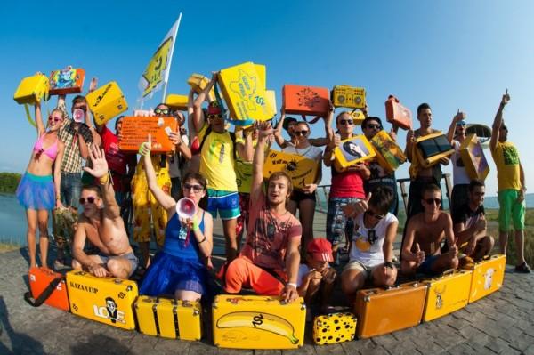 Казантип 2014 - свободный вход с чемоданом