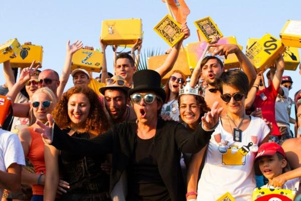 Никита и желтые чемоданы Казантипа