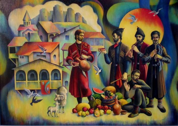Казантип 2014 в Грузии
