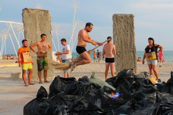 Казантип 2015 - пляж Бифуза в Поповке