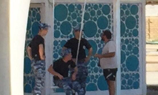 Полиция на Казантипе