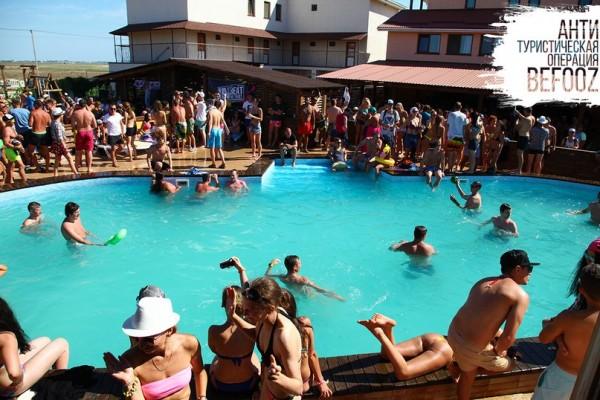 Вечеринки на Казантипе