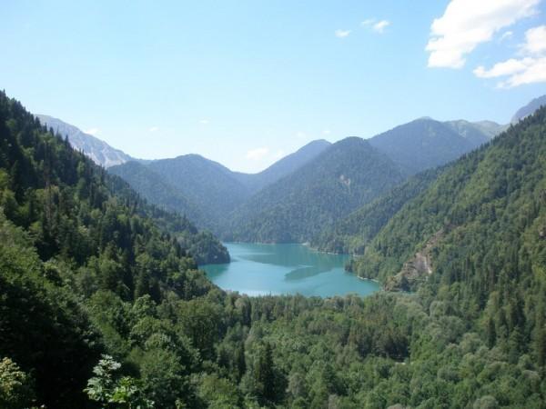 абхазия озеро рицца отдых
