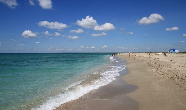 отдых в крыму пляж тарханкут