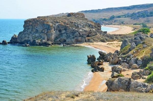 отдых в крыму дикие пляжи