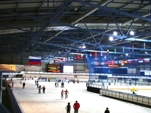 ледовый дворец минск каток