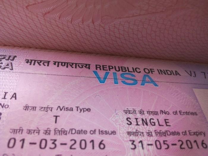 Виза в Индию самостоятельно, Ещё один великолепный шаг