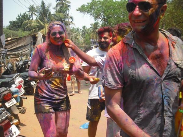 праздник красок холи индия март 2016 год