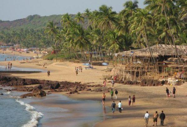 анджуна пляж гоа индия