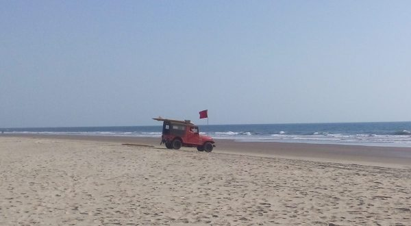 арамболь пля спасатели красный флаг