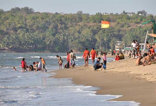 мирамар пляж северного гоа индия