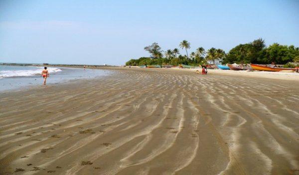 пляж ашвем в индии