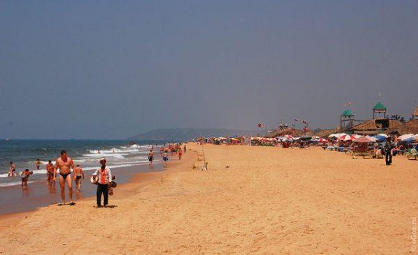 кандолим пляж северного гоа индия