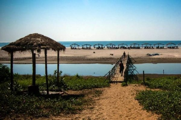 индия мадрем пляж гоа