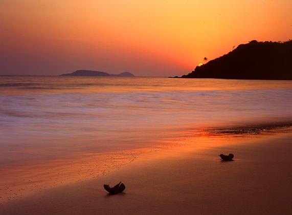 пляж дона паула индия гоа северный