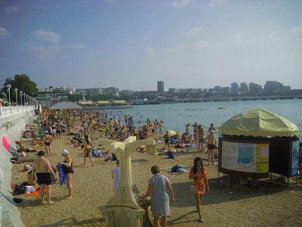 геленджик пляж путешествие на авто по побережью Черного моря