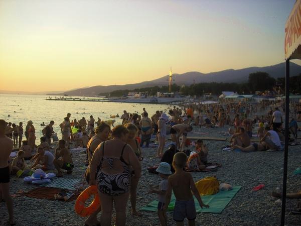кабардинка пляж путешествие на авто по побережью Черного моря
