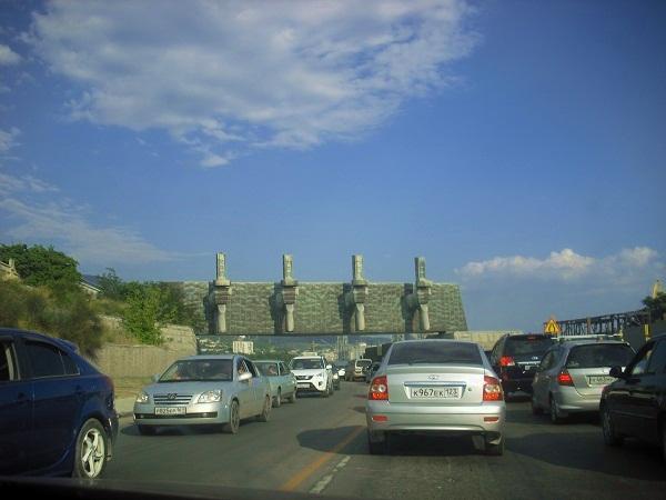 новороссийск путешествие на авто по побережью Черного моря