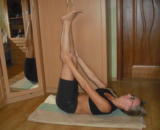 упражнения бодифлекс растяжка подколенных сухожилий
