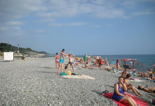 отдых на Черном море - Солонники