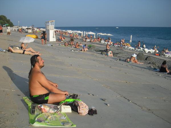 адлер пляж 2016