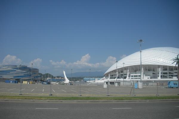 адлер олимпийские объекты