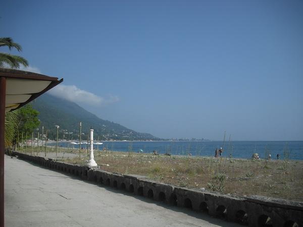 Абхазия Гагра море