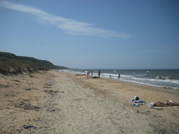 станица голубицкая дикий пляж слева