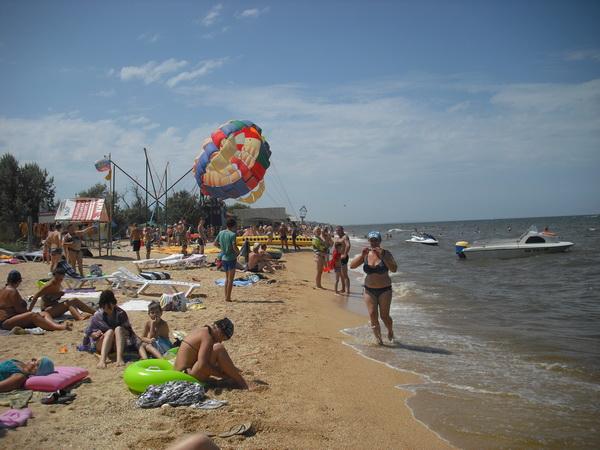 станица голубицкая центральный пляж