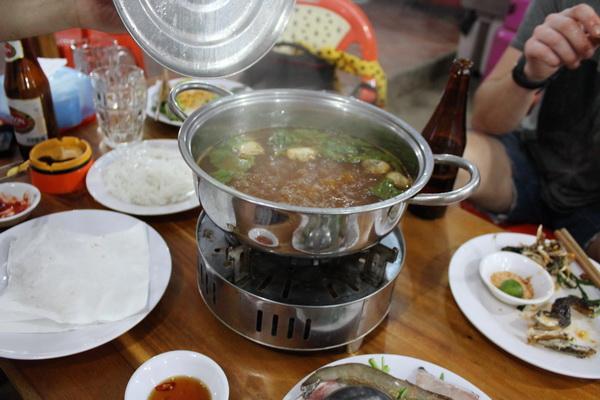 кафе во Вьетнаме на острове Фукуок сколько стоит, где и что поесть hot pot