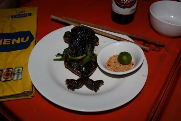 кафе во Вьетнаме на острове Фукуок сколько стоит, где и что поесть лягушка